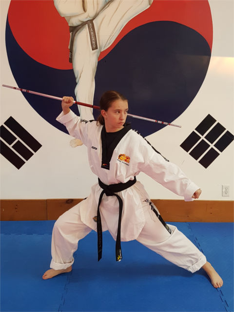 Photo of Makayla Pomkoski, instructor.